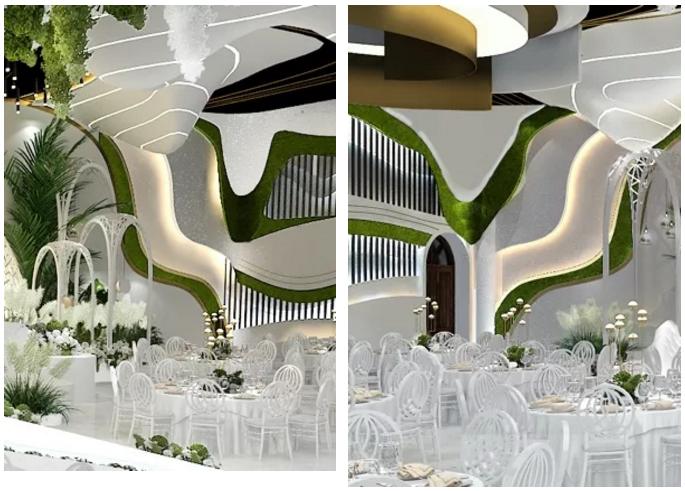 婚礼堂发布:2.5万方、5大宴会厅!重庆永固·两江宴会中心设计解读  第12张