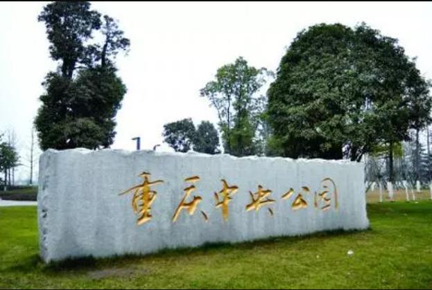 重庆城市中心公园,成婚纱照打卡胜地  第1张