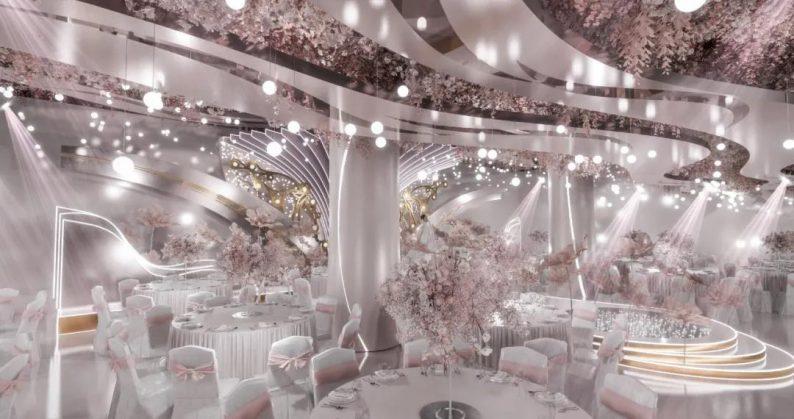婚礼堂发布:婚庆携手酒店,共同打造3大主题宴会厅  第1张