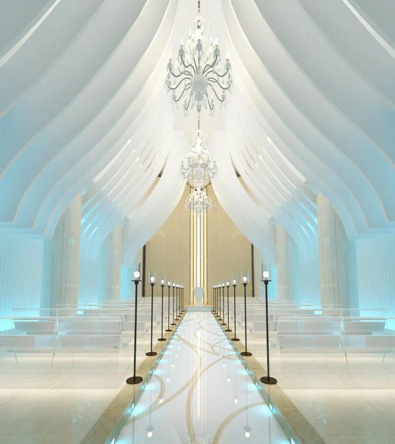 婚礼堂发布:国企投资、1.6万方!一个富有温度服务的婚礼堂  第20张
