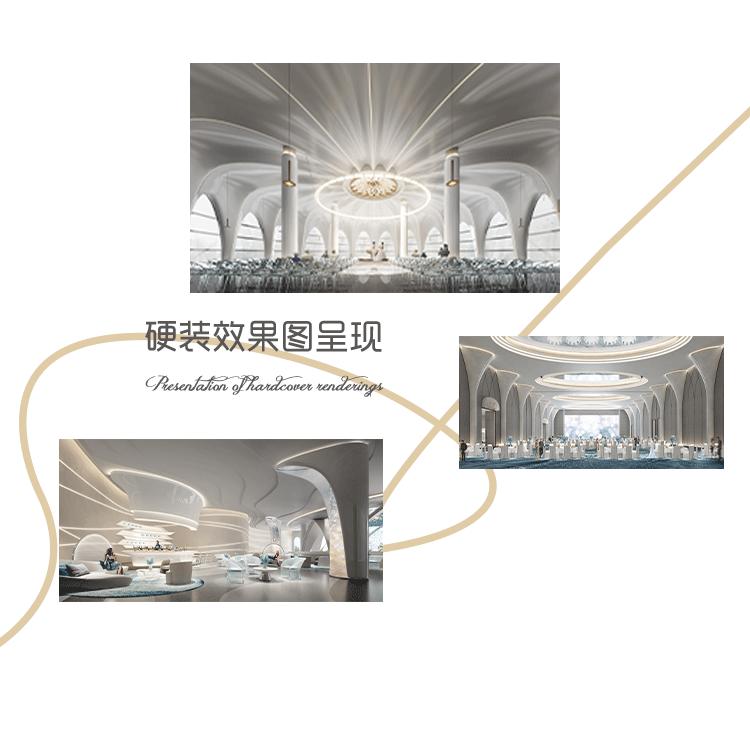 婚礼堂发布:赖梓愈、李华义设计!青岛地标性婚庆产业MALL  第7张