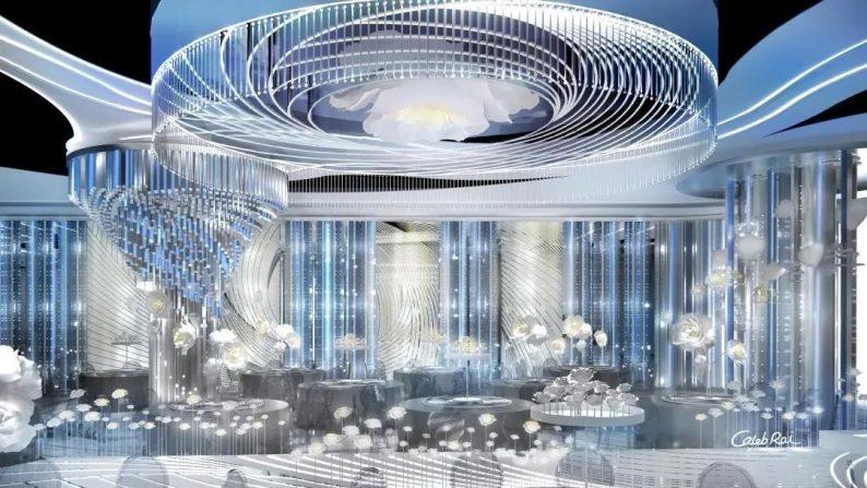 婚礼堂发布:赖梓愈、李华义设计!青岛地标性婚庆产业MALL  第10张