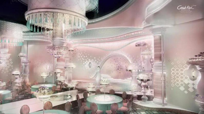 婚礼堂发布:赖梓愈、李华义设计!青岛地标性婚庆产业MALL  第12张