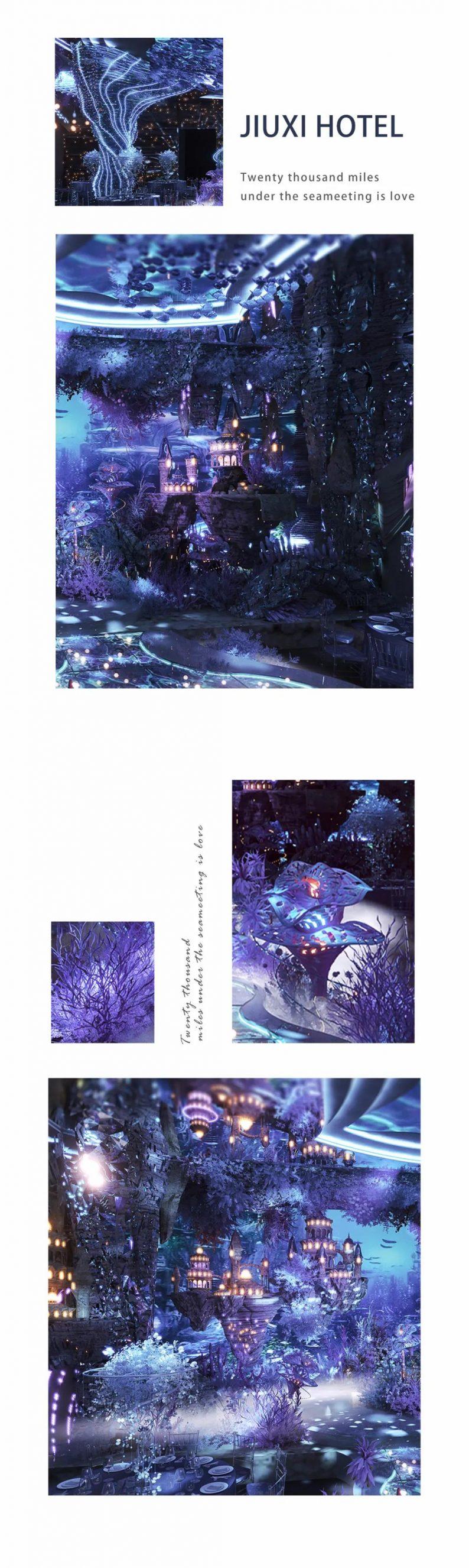 婚礼堂发布:赖梓愈、李华义设计!青岛地标性婚庆产业MALL  第20张