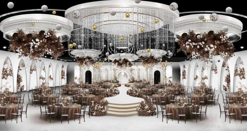 婚礼堂发布:赖梓愈、李华义设计!青岛地标性婚庆产业MALL  第22张