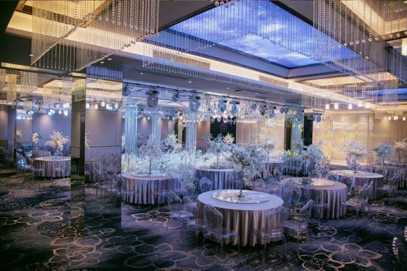 婚礼堂发布:11000平!8大宴会厅!新禧万年宴会中心世贸店  第5张