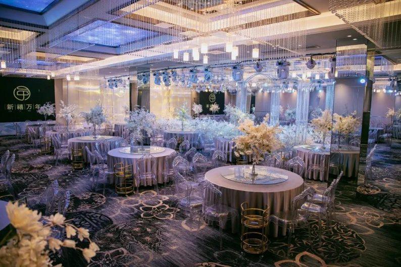 婚礼堂发布:11000平!8大宴会厅!新禧万年宴会中心世贸店  第6张