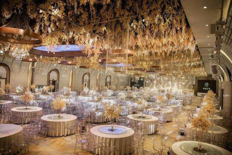 婚礼堂发布:11000平!8大宴会厅!新禧万年宴会中心世贸店  第7张