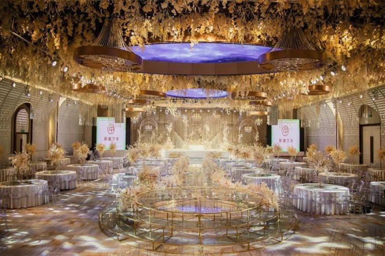 婚礼堂发布:11000平!8大宴会厅!新禧万年宴会中心世贸店  第8张