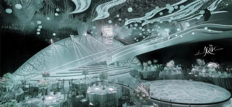 婚礼堂发布:来了!耗资千万4D数控打造的沉浸式艺术空间  第12张