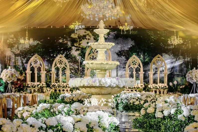 8种适用于婚礼设计的建筑风格(内含实际运用图)  第1张