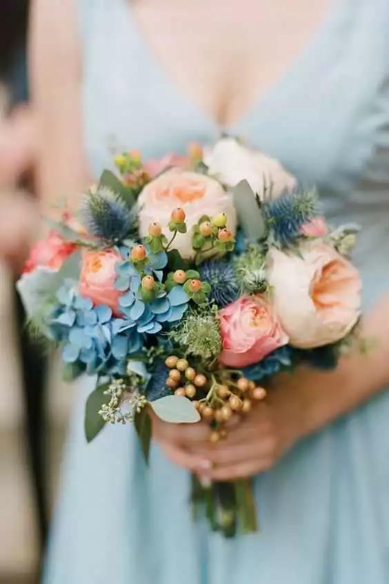 婚礼手捧花,要如何设计?  第3张