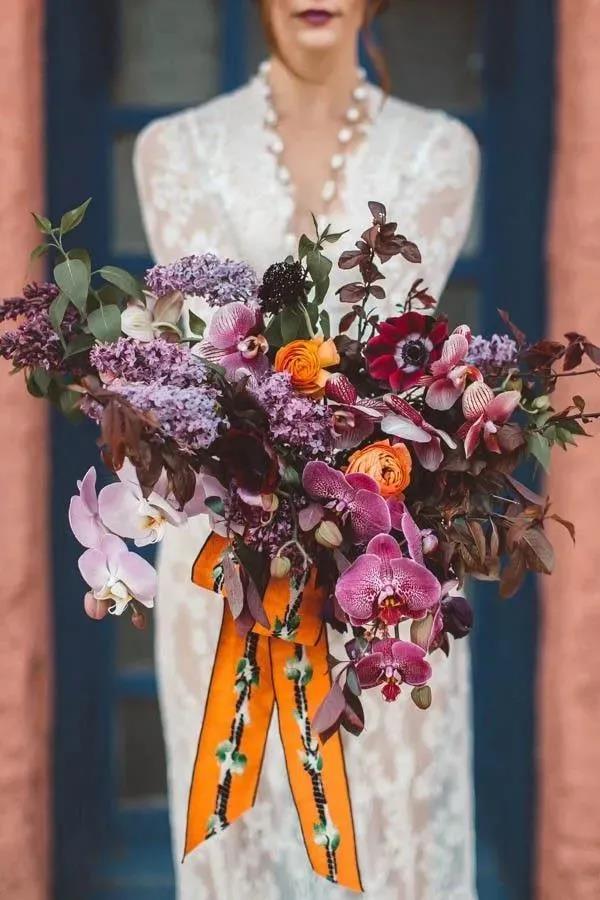婚礼手捧花,要如何设计?  第10张