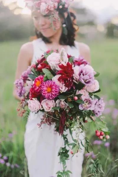 婚礼手捧花,要如何设计?  第13张