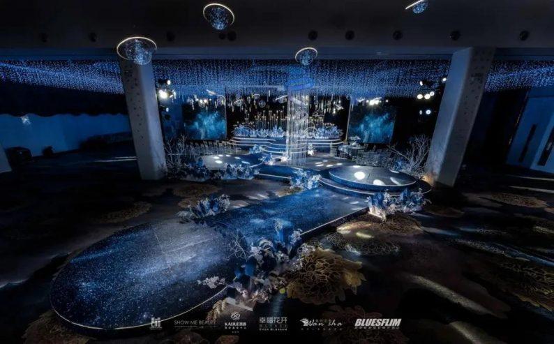 婚礼堂发布:6个主题厅,浙江嘉兴6000平国际宴会中心