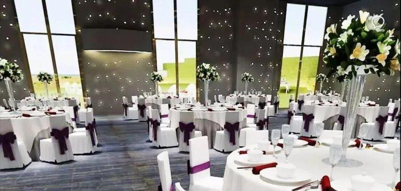 婚礼堂发布:6个主题厅,浙江嘉兴6000平国际宴会中心  第17张