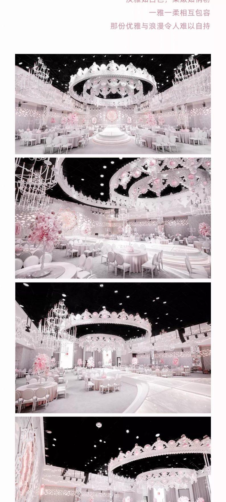 婚礼堂发布:蔡上设计!喜印王子沈阳店枫露宴会厅  第4张