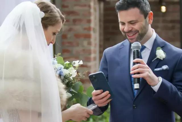 别出心裁的区块链婚礼