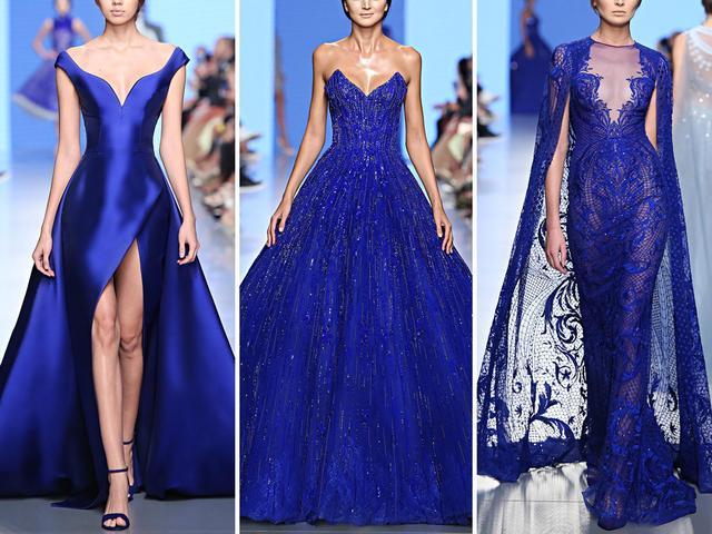 极致奢华!施华洛世奇水晶大裙摆礼服  第3张