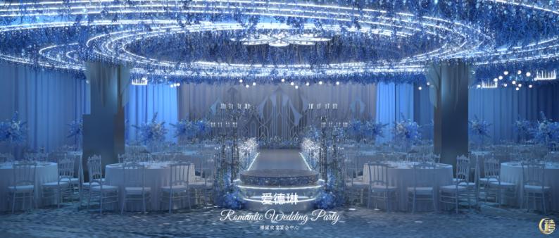 婚礼堂发布:8000平、7大宴会厅!泰兴禧嫁欢宴宴会中心