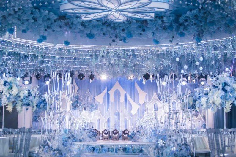婚礼堂发布:8000平、7大宴会厅!泰兴禧嫁欢宴宴会中心  第2张
