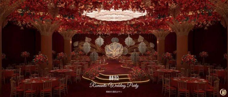 婚礼堂发布:8000平、7大宴会厅!泰兴禧嫁欢宴宴会中心  第10张