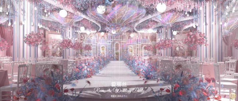 婚礼堂发布:8000平、7大宴会厅!泰兴禧嫁欢宴宴会中心  第11张