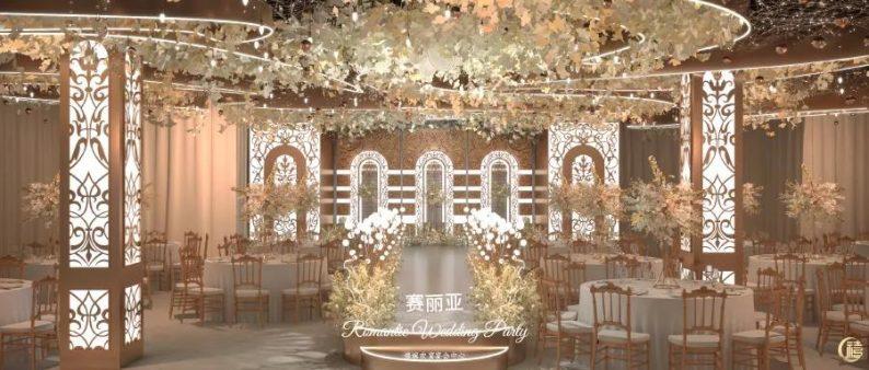 婚礼堂发布:8000平、7大宴会厅!泰兴禧嫁欢宴宴会中心  第15张