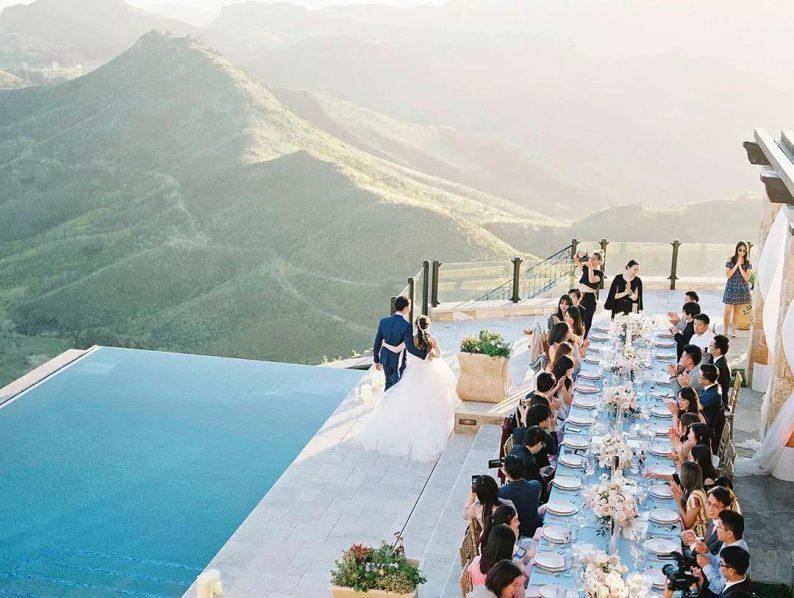 2021第一个婚宴高峰即将来袭!室外自助餐式婚宴兴起  第3张