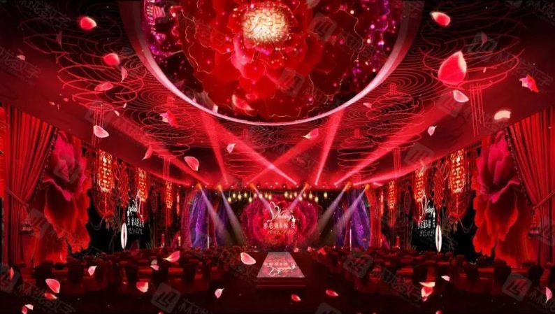 婚礼堂发布:5D全息宴会厅!2600平米的沉浸式体验餐厅