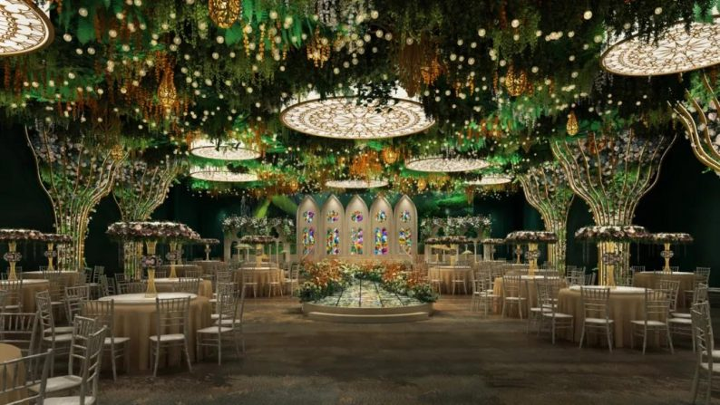 婚礼堂发布:徐丹设计!诺丁山文化创意产业园-喜糖婚礼酒店  第3张