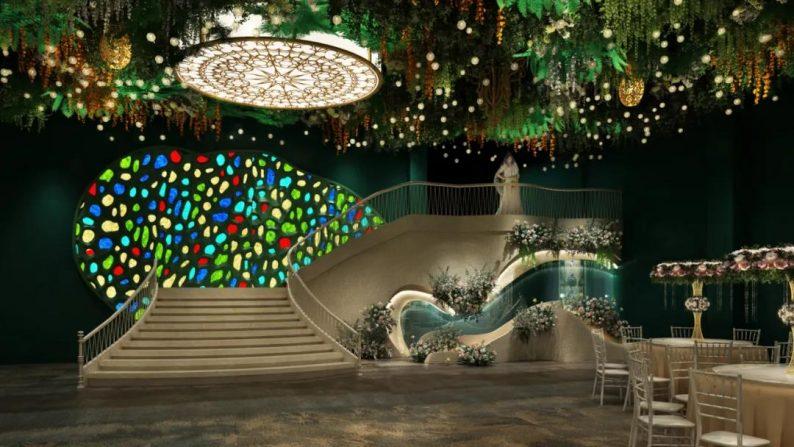 婚礼堂发布:徐丹设计!诺丁山文化创意产业园-喜糖婚礼酒店  第4张