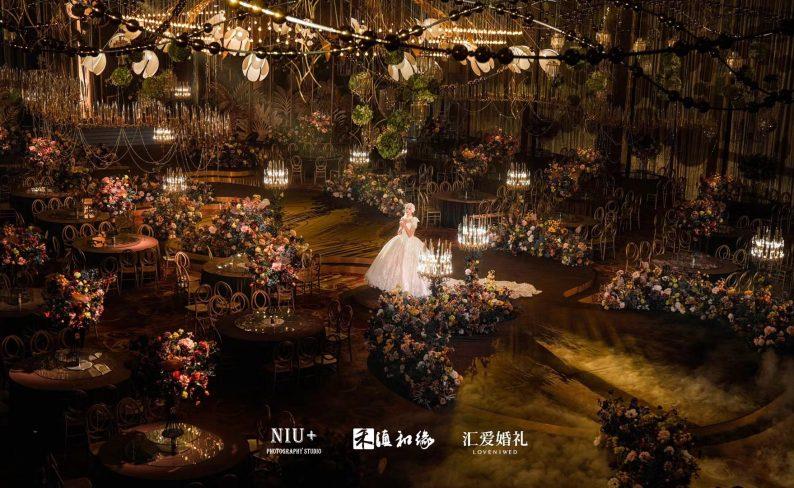 婚礼堂发布:斥资300万!滇和缘X汇爱推出两大婚礼新厅  第5张