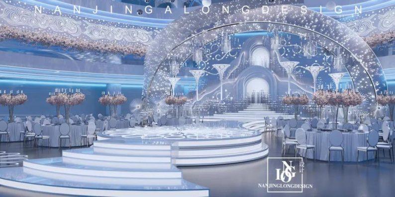 婚礼堂发布:阿龙设计!软装800万,淮安鼎立国际大酒店  第2张