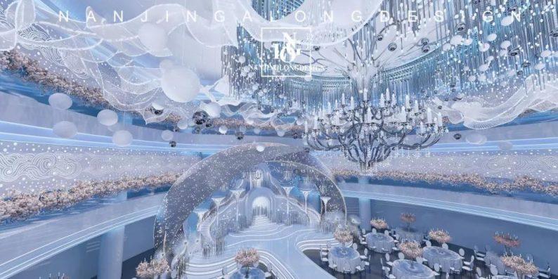 婚礼堂发布:阿龙设计!软装800万,淮安鼎立国际大酒店  第4张
