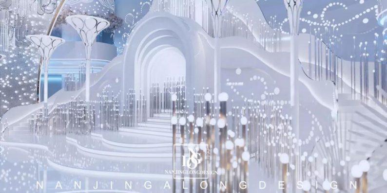 婚礼堂发布:阿龙设计!软装800万,淮安鼎立国际大酒店  第5张