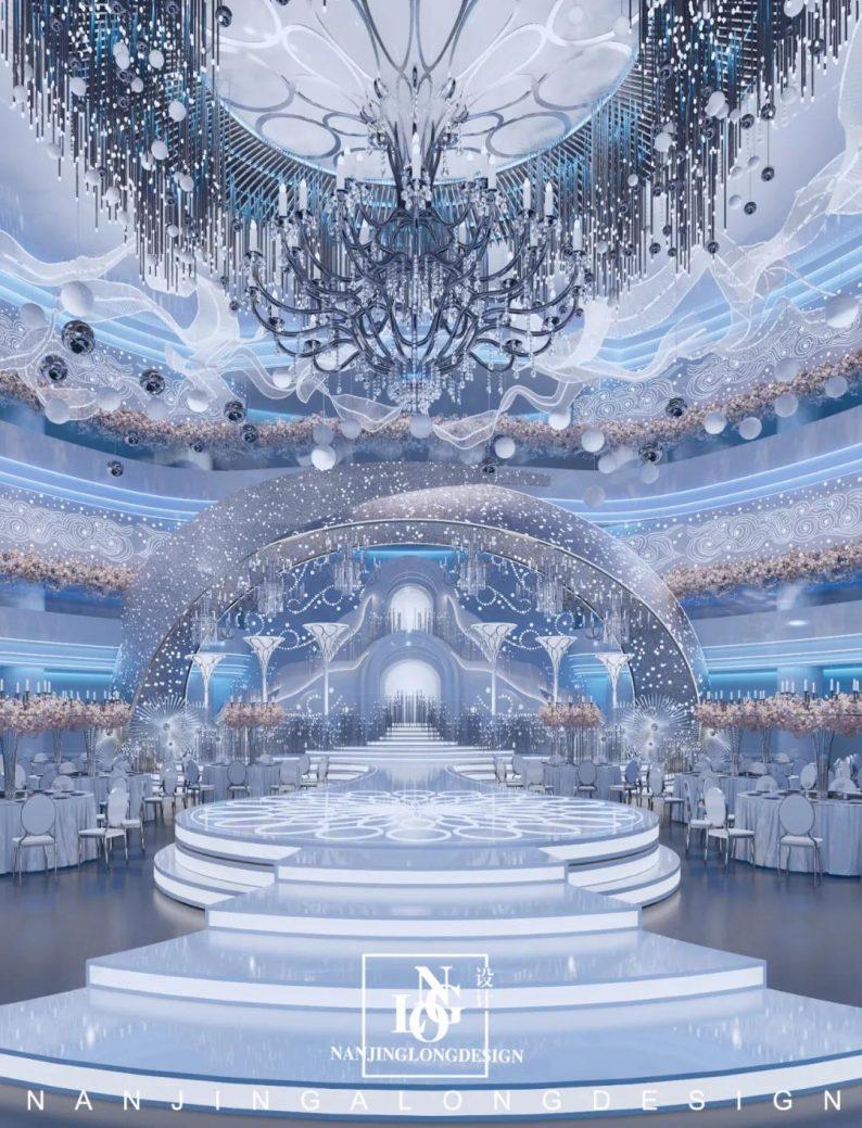 婚礼堂发布:阿龙设计!软装800万,淮安鼎立国际大酒店  第8张