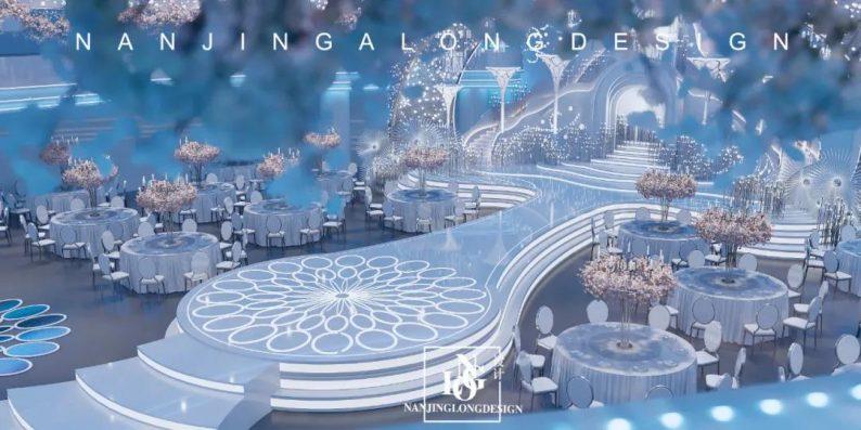 婚礼堂发布:阿龙设计!软装800万,淮安鼎立国际大酒店  第10张