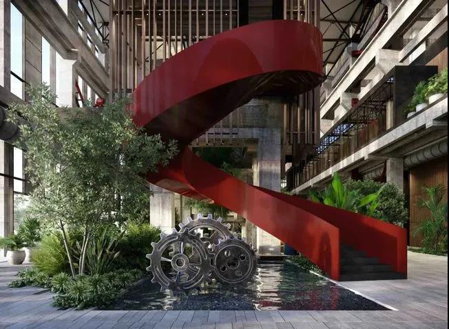 朋克工业风!北京首钢园香格里拉酒店  第4张