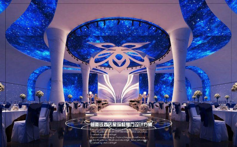 婚礼堂发布:赖梓愈参与设计!禧道16个宴会厅设计解读  第11张
