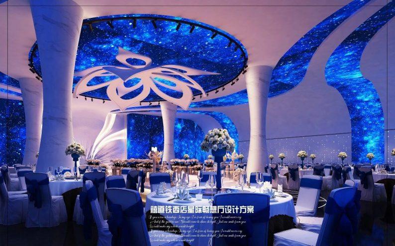 婚礼堂发布:赖梓愈参与设计!禧道16个宴会厅设计解读  第12张