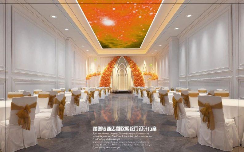 婚礼堂发布:赖梓愈参与设计!禧道16个宴会厅设计解读  第15张