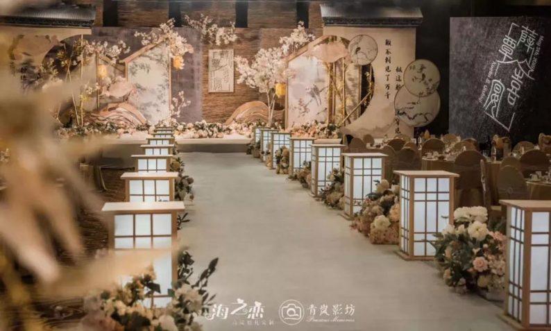 婚礼堂发布:烟台老牌酒店,升级4D球概念婚礼堂  第7张