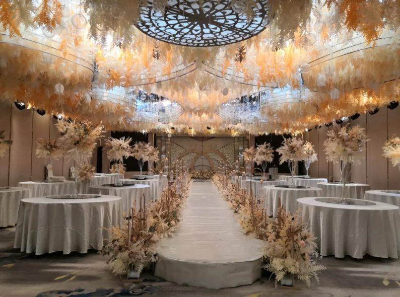 婚礼堂发布:烟台老牌酒店,升级4D球概念婚礼堂  第11张