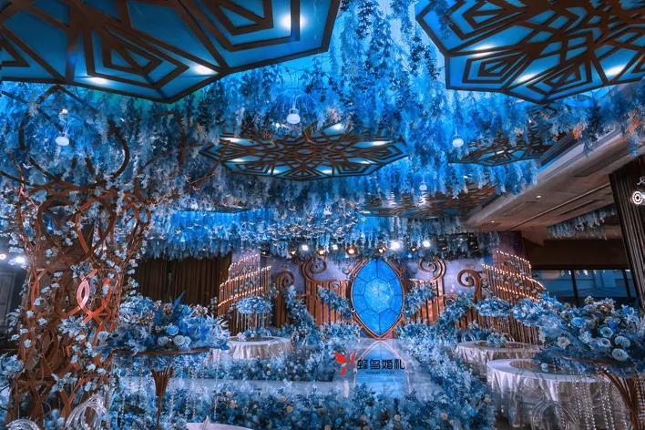 婚礼堂发布:烟台老牌酒店,升级4D球概念婚礼堂  第13张