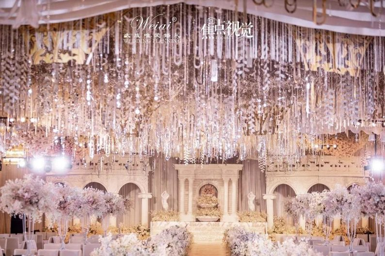 婚礼堂发布:4大主题宴会厅!西南首家庄园式婚礼堂  第4张
