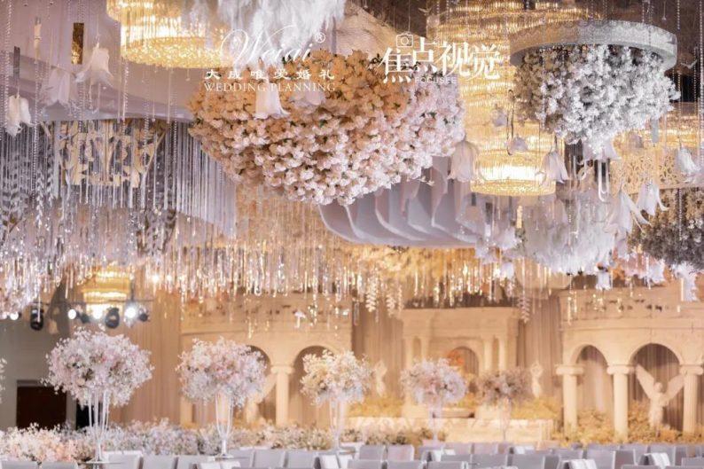 婚礼堂发布:4大主题宴会厅!西南首家庄园式婚礼堂  第7张