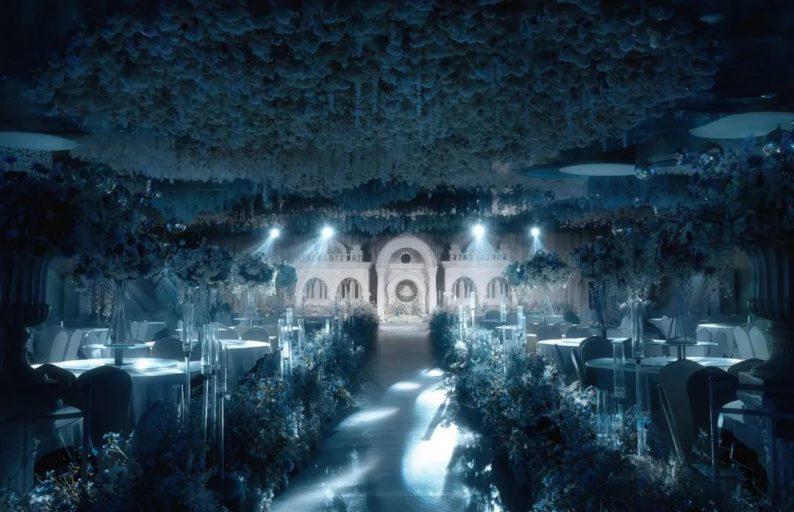 婚礼堂发布:4大主题宴会厅!西南首家庄园式婚礼堂  第10张