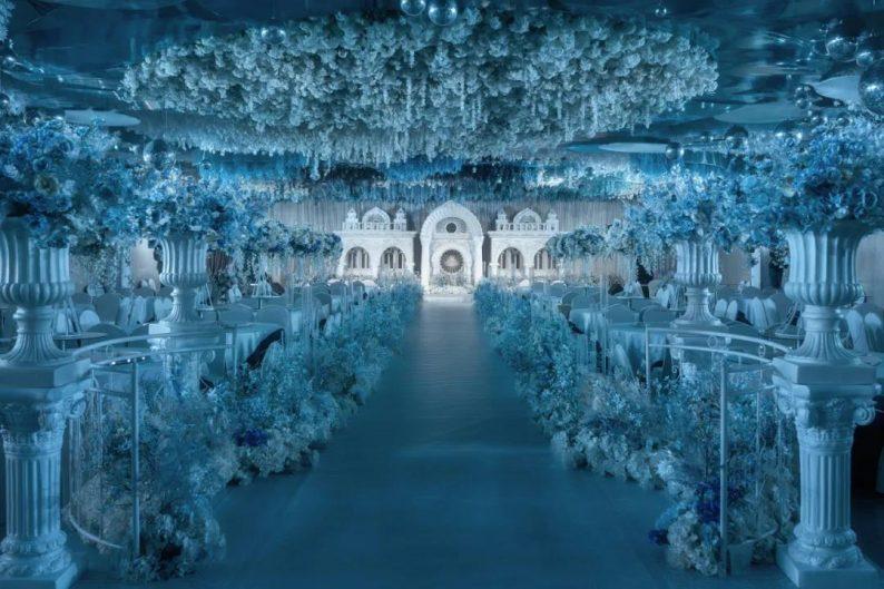 婚礼堂发布:4大主题宴会厅!西南首家庄园式婚礼堂  第12张