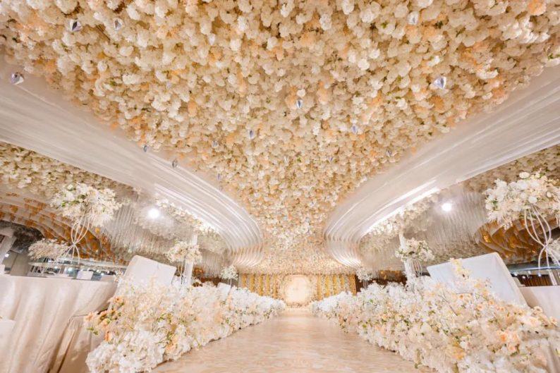 婚礼堂发布:4大主题宴会厅!西南首家庄园式婚礼堂  第15张